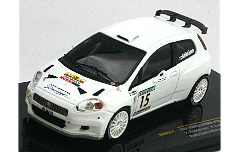 フィアット プント S2000 2009 ラリー・デラ・マルカ No15 (1/43 イクソRAM371)