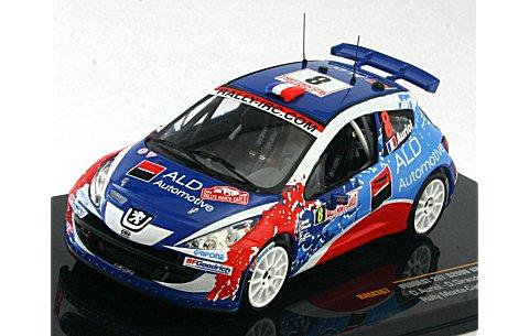 プジョー 207 S2000 2009 ラリー・モンテカルロ No8 (1/43 イクソRAM367)