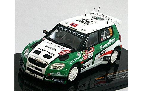 シュコダ ファビア S2000 No39 2009 ラリー・GB PWRC優勝 (1/43 イクソRAM402)