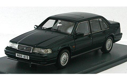 ボルボ 960 1995 Mグリーン (1/43 ネオNEO43612)