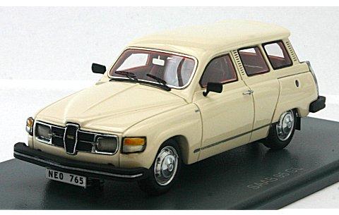 サーブ 95 GL 1979 ホワイト (1/43 ネオNEO43765)