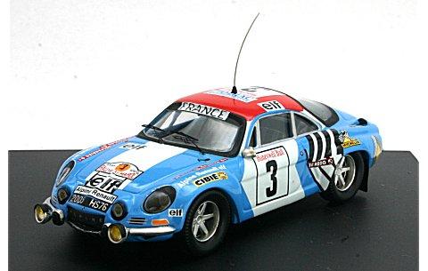 アルピーヌ ルノー A110 1974 モロッコラリー 優勝 (1/43 トロフュー821)
