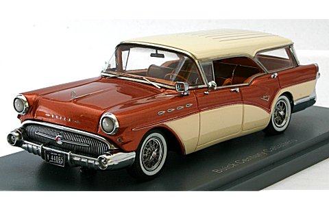 ビュイック センチュリー キャバレロ エステート ワゴン 1957 コッパー (1/43 ネオNEO44065)