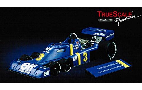 ティレル P34 No3 1976 スウェーデンGP アンダーストーブ 優勝車 (1/18 TSM10185)
