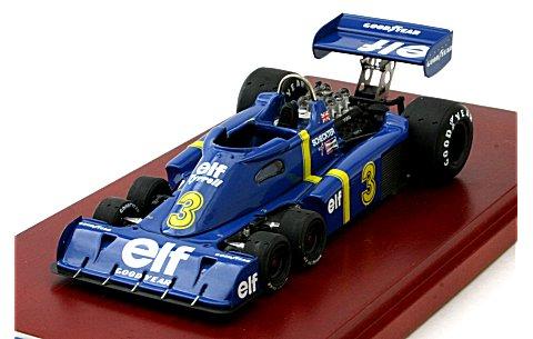 1976 ティレル P34 No3 スウェーデンGP優勝車 JodyScheckterサイン付 (1/43 TSM10SS4)