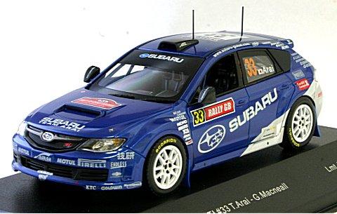 スバル インプレッサ WRX STI WRC 2009 ラリーGB No33 (1/43 イクソMDC023)