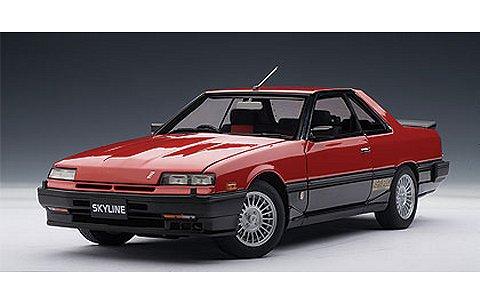 ニッサン スカイライン ハードトップ 2000 ターボ インタークーラー RS-X (DR30) レッド/ブラック (1/18 オートアート77426)