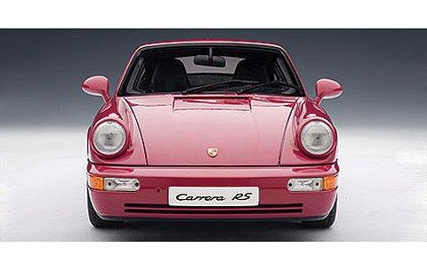 ポルシェ 911 カレラ RS (964) ピンク (1/18 オートアート77893)
