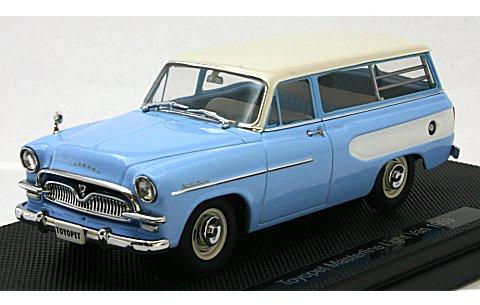 トヨペット マスターライン ライトバン 1959 ライトブルー (1/43 エブロ44341)