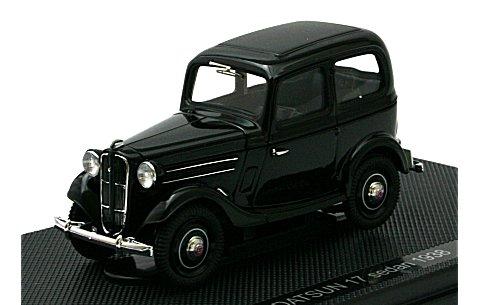 ダットサン 17型 セダン 1938 ブラック (1/43 エブロ44345)