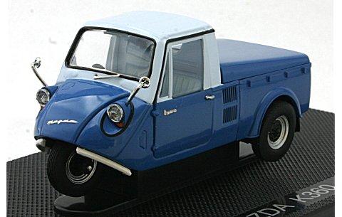 マツダ K360 1962 With top ブルー/ホワイト (1/43 エブロ44411)