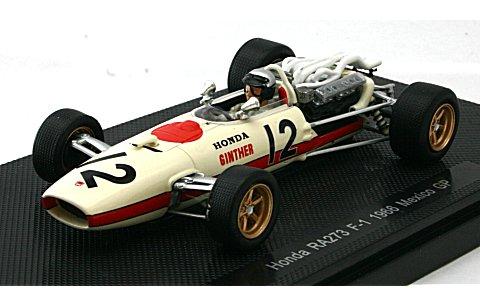 ホンダ RA273 1966 メキシコGP (1/43 エブロ44262)