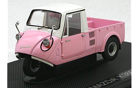 マツダ K360 1962 ピンク/ホワイト (1/43 エブロ44412)