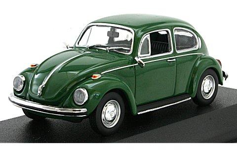 フォルクスワーゲン 1302 1970 グリーン (1/43 ミニチャンプス430055010)