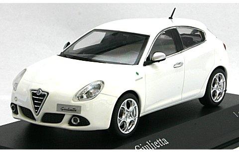 アルファロメオ ジュリエッタ 2010 ホワイト (1/43 ミニチャンプス400120000)