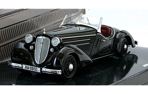 アウディ フロント 225 ロードスター 1935 ブラック (1/43 ミニチャンプス437019131)