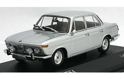 BMW 1800 TISA 1965 シルバー (1/43 ミニチャンプス400025100)