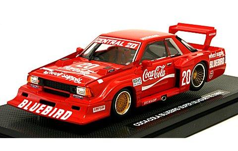 コカ・コーラ ブルーバード スーパーシルエット 赤 1982 (1/43 トミカエブロ226857)