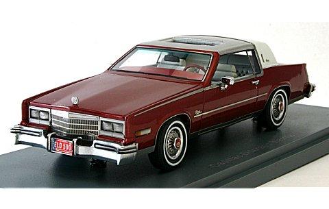 キャデラック エルドラド Biaritz 1979 レッド/ホワイト (1/43 ネオNEO43500)