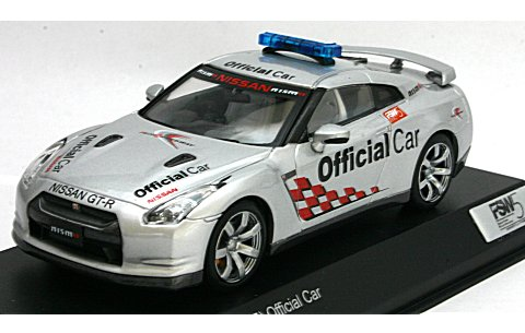 ニッサン GT-R (R35) オフィシャルカー 富士スピードウェイ FSW5 (1/43 京商K03741FSW)