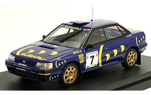 スバル レガシィ RS 1993 No3 ニュージランド優勝 (1/43 hpiレーシング8184)