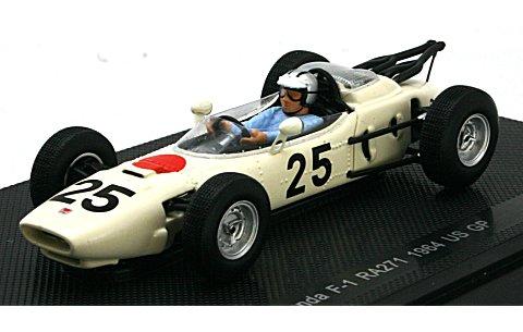 ホンダ RA271 1964 アメリカGP No25 (1/43 エブロ44257)