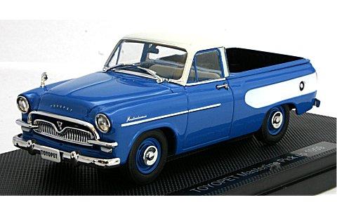 トヨペット マスターライン ピックアップ 1959 ブルー (1/43 エブロ44343)