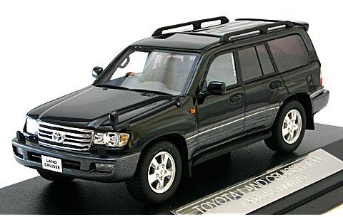 トヨタ ランドクルーザー 100 2005 ブラック (1/43 ハイストーリーHS038BK)