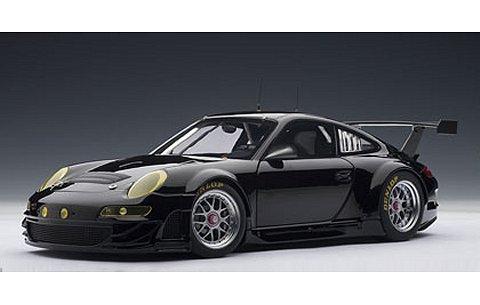 ポルシェ 911 (997) GT3RSR 2009 プレーンボディ ブラック (1/18 オートアート80974)