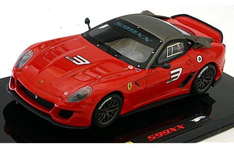 フェラーリ 599 XX レッド (エリートシリーズ) (1/43 マテルMT6263T)