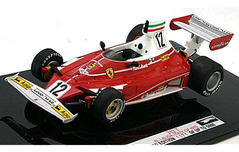 フェラーリ 312T イタリアGP 1975 N・ラウダ (1/43 マテルMT6937T)