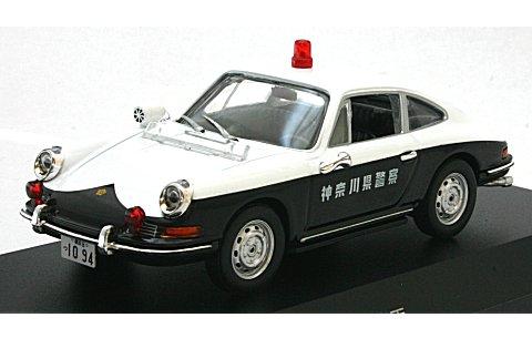 ポルシェ 912 1968 神奈川県警察交通機動隊車両 (1/43 レイズH7436801)