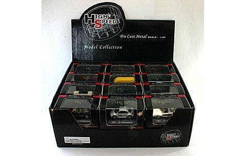 【特価品】 1/87 Highspeed ストリートカー 特別アソートセット (24種類) (1/87 ハイスピードHS02)
