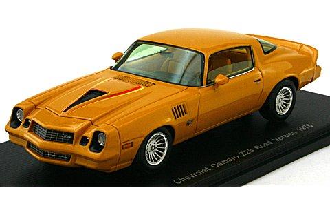 シボレー カマロ Z28 ロードバージョン 1978 (1/43 スパークモデルS2609)