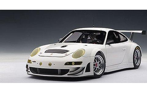 ポルシェ 911 (997) GT3RSR 2009 プレーンボディ ホワイト (1/18 オートアート80973)