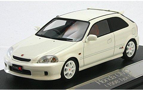 ホンダ シビック TypeR 1999 チャンピオンシップホワイト (1/43 ハイストーリーHS037WH� title=