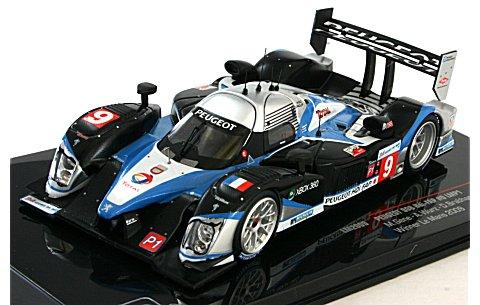 プジョー 908 HDI FAP LMP1 2009 ル・マン24時間優勝 No9 (1/43 イクソLM2009)