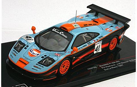 マクラーレン F1 GTR (GULF) 1997 ル・マン24時間2位 No41 (イクソLMM106)