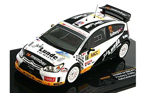 シトロエン C4 WRC No11 2009 ラリー・カタルーニャ4位 (1/43 イクソRAM398)