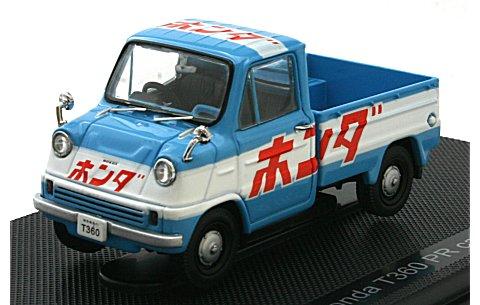 ホンダ T360 PRカー 1963 ブルー/ホワイト (1/43 エブロ44414)