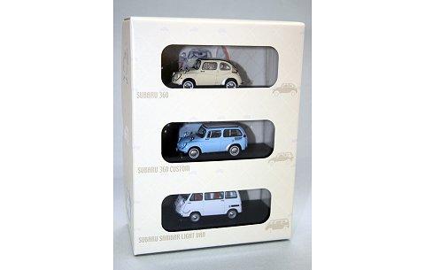 「スバル 1960's」 セット (300セット限定) (1/43 エブロ90004)