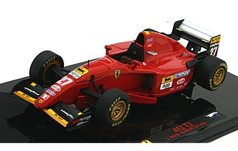 フェラーリ 412T2 カナダGP 1995 ジャン・アレジ (1/43 マテルMT6286T)