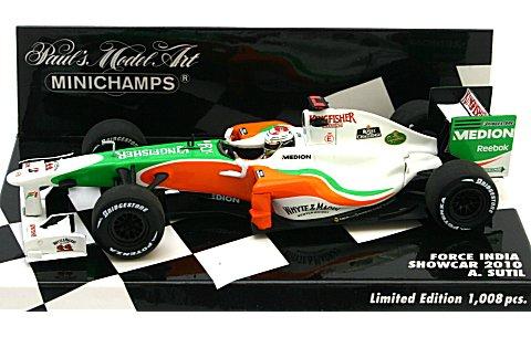 フォース インディア A・スーティル ショーカー 2010 (1/43 ミニチャンプス400100084)