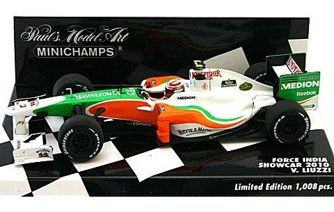 フォース インディア V・リウッツィ ショーカー 2010 (1/43 ミニチャンプス400100085)