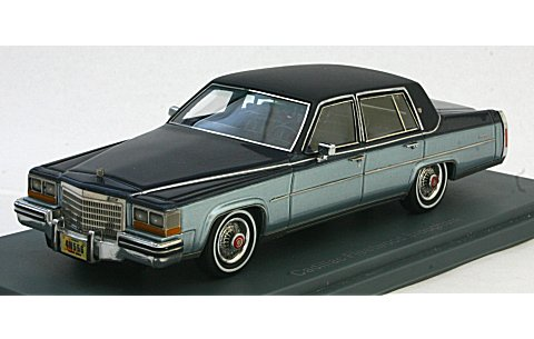 キャデラック フリートウッド Broughham 1980 ダークブルー/ブルー (1/43 ネオNEO43556)