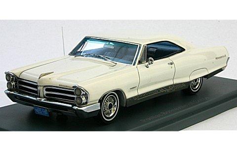 ポンティアック ボンネビル 2ドア クーペ 1965 ホワイト (1/43 ネオNEO44100)