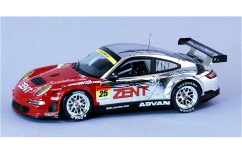 ZENT ポルシェ RSR スーパーGT300 2010 (1/43 エブロ44430)