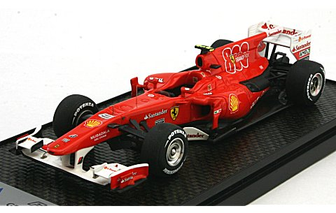 フェラーリ F10 2010 トルコGP No8 F・Alonso (1/43 BBR BBRC45A)