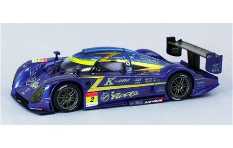 アップル K-ONE 紫電 スーパーGT300 2010 No12 (1/43 エブロ44421)