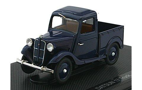 ダットサン 17型 トラック ダークブルー (1/43 エブロ44348)